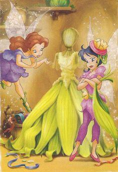 Rosetta's Dress Mess. Tales of Pixie Hollow