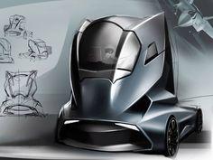 Truck Design Concept by Hermann Seitz