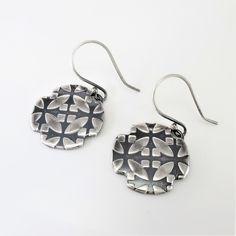 Silver Drop Earrings, Boho Earrings, Sleeper Earrings, 14k Gold Jewelry, Silver Gifts, Bridesmaid Earrings, Minimalist Earrings, Modern Jewelry, Gifts For Mom