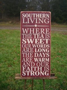Southern Living Quote