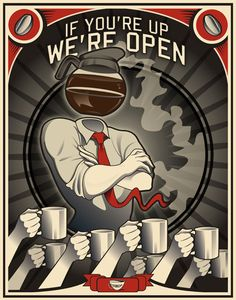 coffee propaganda