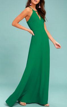 Beauty and Grace Green Maxi Dress @bestmaxidress