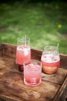 Raspberry and Thyme Shrub
