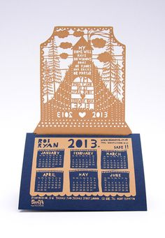 Rob Ryan 2013 Desk Calendar by misterrob on Etsy, $7.75