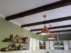 Your ceiling in need of some decorative charm? SENNELL FAUX BEAMS are moulded from high density polyurethane, ensuring durability while also offering the added benefit of greatly reduced weight when compared to wood. Fake Wood Beams, Faux Beams, Benefit, Ceiling Lights, The Originals, Lighting, Home Decor, Decoration Home, Light Fixtures
