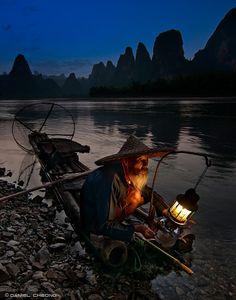 noite de pesca