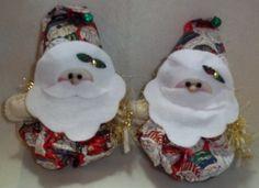 Christmas - Santa Goody Bags Set of 2. Starting at $6 on Tophatter.com!