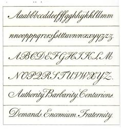 Copperplate Worksheet Learning <b>copperplate</b> - wetcanvas