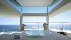 Clifton home jacuzzi, Cape Town