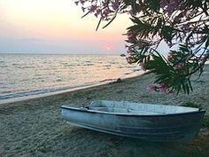 Playa, Puesta Del Sol, Mar, Resto