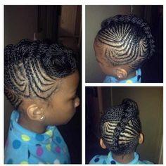Astonishing Kid Hairstyles Black Kids And Black Kids Hairstyles On Pinterest Hairstyles For Women Draintrainus