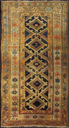 "KEIVAN WOVEN ARTS,   Type :Hamedan Origin :Iran  Size : 3'4""x6'2""  Circa :1910"