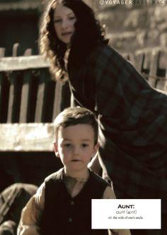 Outlander definitions.- Aunt. (x)