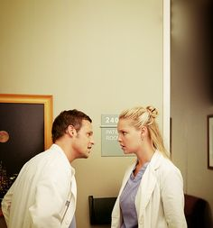 Alex: Why would you want to help me after what I did? Izzie: Because, it's what JESUS, would freaking do!