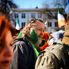 Saint's Patrick Day in Moscow