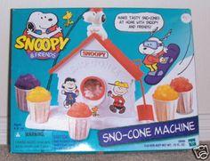 Sno-Cone machine  :)