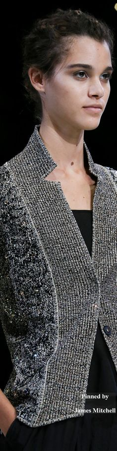 Giorgio Armani Collection DETAILS Spring 2015 Ready-to-Wear