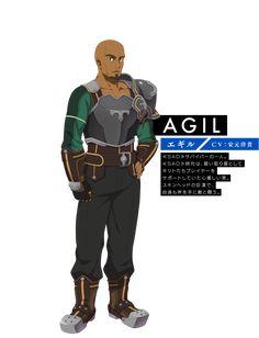 【AGIL エギル】〈CV:安元洋貴〉≪SAO≫サバイバーの一人。≪SAO≫時代は、買い取り屋としてキリトたちプレイヤーをサポートしていた心優しい男。スキンヘッドの巨漢で、自身も斧を手に敵と闘う