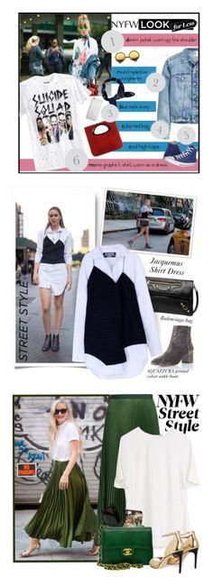 """""""Winners for NYFW Street Style: Day One"""" by polyvore ❤ liked on Polyvore featuring Bioworld, Boohoo, Laura Di Maggio, Converse, Merkury, ZeroUV, Native Union, StreetStyle, NYFW and polyvorecontest"""