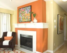 Accent Walls Design, Pictures, Remodel, Decor and Ideas - page 12....hmmm, very close!