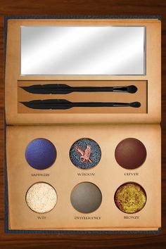 Beauty : Eye Shadow Eye Liner & Mascara : Harry Potter Make-up Palette Harry Potter Thema, Harry Potter Houses, Harry Potter Things, Harry Potter Theories, Potter Facts, Mac Makeup, Makeup Brushes, Beauty Makeup, Makeup Tools