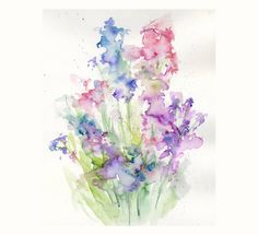 Finding a Mentor - What inspires me Abstract Watercolor, Watercolour Painting, Watercolor Flowers, Watercolors, Illustrations, Inspire Me, Doodles, Greeting Cards, Oil Paintings