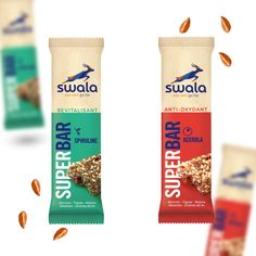SWALA on Packaging of the World - Creative Package Design Gallery Cereal Packaging, Cookie Packaging, Brand Packaging, Food Packaging Design, Cereal Mix, Best Cereal, Cereal Bars, Package Design, Label Design
