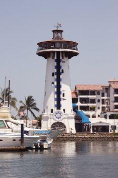 """El Faro"" Marina Vallarta, Puerto Vallarta, Jalisco, México."