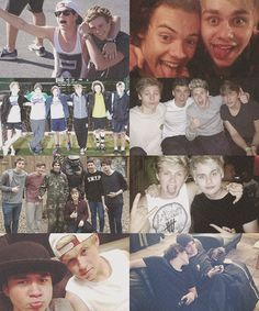 1D with 5SOS... check out my 5SOS board :)