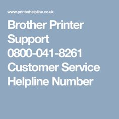 Get instant resolutions for any Brother Printer issue by contacting Brother printer support. Dial the toll-free support phone number at any time and get quality customer service by the customer support staff. Brother Printers, Tech Support, Customer Service, Number, Free, Customer Support