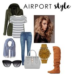 """""""Untitled #36"""" by tyroweowens on Polyvore featuring LE3NO, Oasis, Cheap Monday, Scotch & Soda, Elizabeth and James, Olivia Pratt, Charlotte Russe, GetTheLook and airportstyle"""