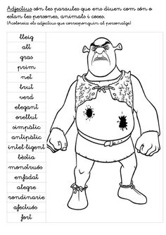 Publishing platform for digital magazines, interactive publications and online catalogs. Title: Shreck Adjectiius, Author: eduardo connolly, Length: 2 pages, Published: Catalan Language, Writing Activities, Conte, Valencia, Trivia, Author, Classroom, Education, Learning