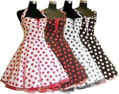 Petticoat Kleid rockabilly 50er Jahre Mode