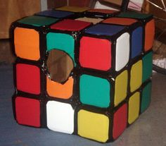 Picture of Realistic Rubik's Cube Costume