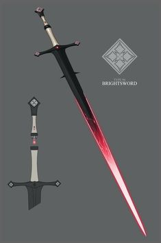 Brightsword by IgnusDei on DeviantArt I'd love to see a Dr Who style crossover where the crystal is the sonic screwdriver.