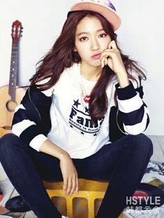 Gorgeous Park Shin Hye for HStyle China F/W Collection Park Shin Hye, The Heirs, Cute Celebrities, Korean Celebrities, Gwangju, Korean Actresses, Korean Actors, Kpop Fashion, Girl Fashion