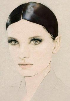 Sixties Beauty by Elisa Mazzone