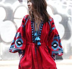 Time for Fashion » Seasonal Shopping: Embroidered Kaftan