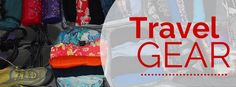 Travel packing tips and lists for travel to destinations like Europe, New Zealand, Southeast Asia, and more, including items you can click and buy directly.