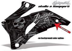 Off Road Graphics - Huntington Ink Skulls-N-Hammers