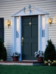 HGTV.com shows you how to install a new front door.