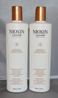 Nioxin Cleanser System 4 Fine/Treated/Noticeably Thinning Hair 16.9 oz (2 pack) * Check this awesome product by going to the link at the image.
