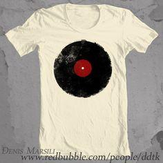 aad5c361463 13 Vinyl Record T-Shirts Retro Grunge Vintage Music!