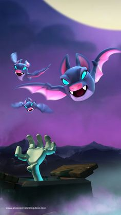 Bat n' Tombstone Clash Of Clans Game, Clash Clans, Royal Wallpaper, Nintendo Ds Pokemon, Character Design Animation, Pokemon Cards, Digimon, Game Character, Game Design