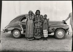 A Peugeot 203 in Mali