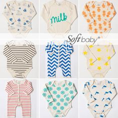 So cute gender neutral baby clothes! Cool Kids Clothes, Cute Outfits For Kids, Toddler Outfits, Baby Momma, Baby Love, Little Boy Fashion, Kids Fashion, Spearmint Baby, Hippie Baby