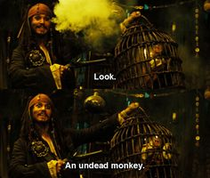Pirates of the Caribbean: Dead Man's Chest. I didn't understand this until I watched till the end of the credits of Curse of the Black Pearl. Seriously, go watch it.
