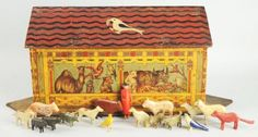 antique noah's ark | Antique Noah's Ark.