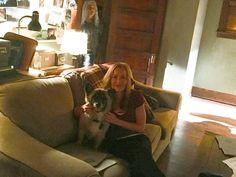 Gillian Anderson and Brick Duchovny