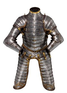 Three quarter armour for a boy, possibly of King Edward VI. English, Greenwich, about 1550.